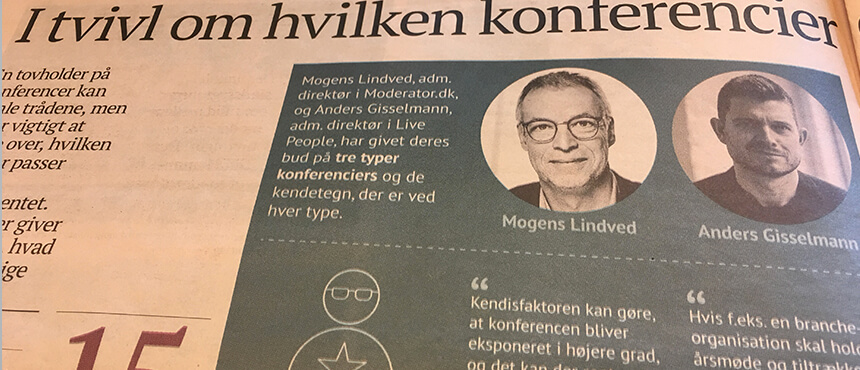 Børsen Interview konferencier